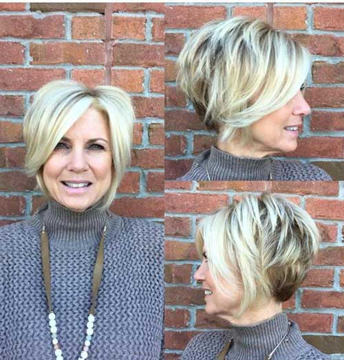 best haircut for 50 year old woman