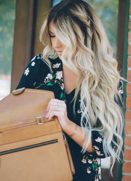 Hairstyles for wavy hair-17