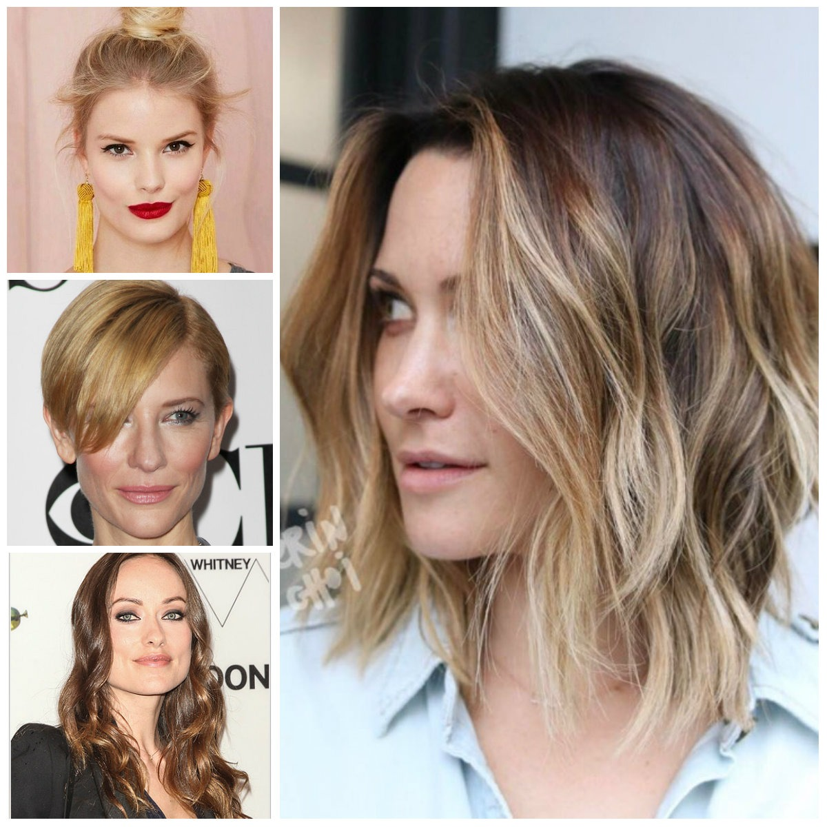 Hairstyles for women with square faces in 2018