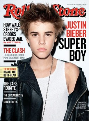 Justin Bieber Edgy Hairstyle Rolling Stone