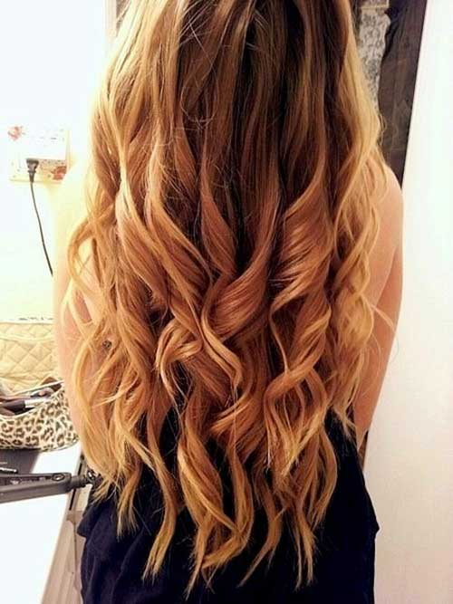 Hairstyles for wavy hair-18