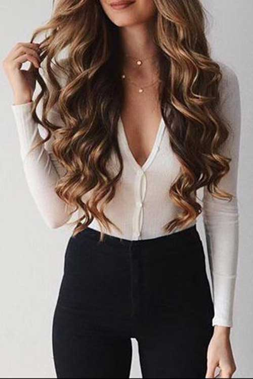 Long Wavy Hairstyle-13