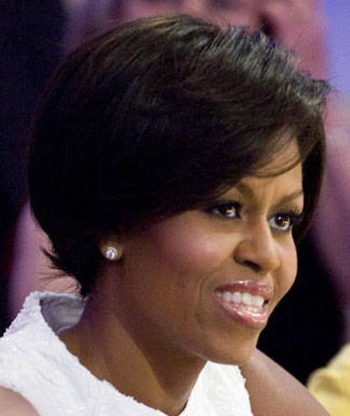 michele obama short hairstyles for the summer