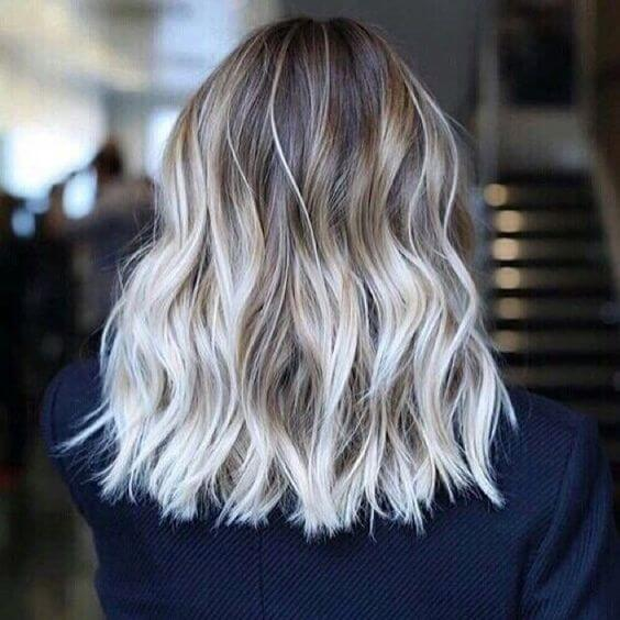 nothing but white-hot ombre hair