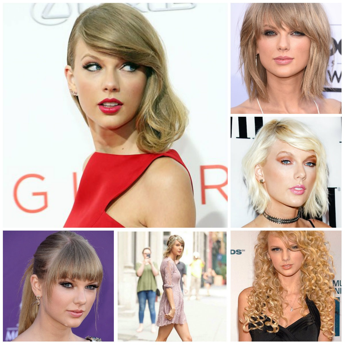 Taylor Swift's Best Hairstyles to Taste in 2017