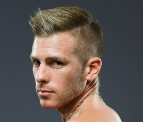short undercut for men