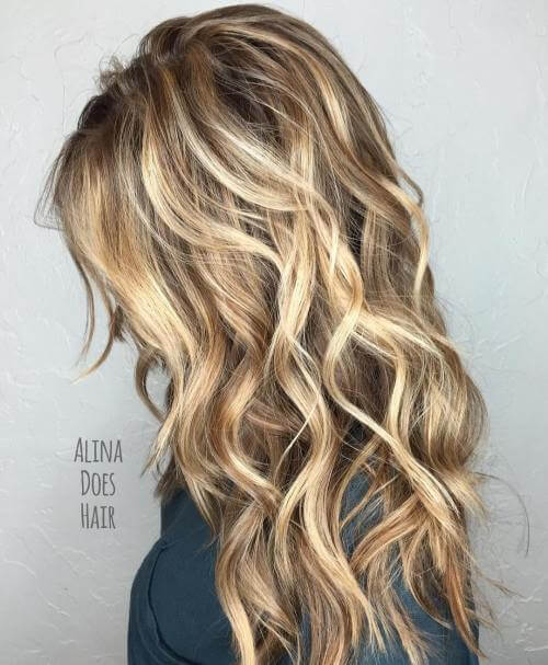 Choppy All Over layers for thick hair