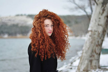 Red Curly Warm Redheads Page Merida Heads Girl