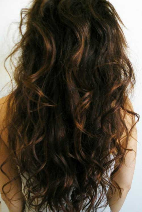 Hairstyles for wavy hair-6
