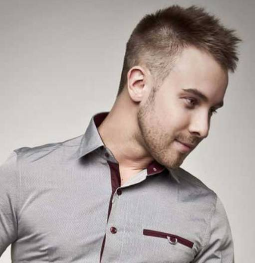 short undercut hairstyles men with beard