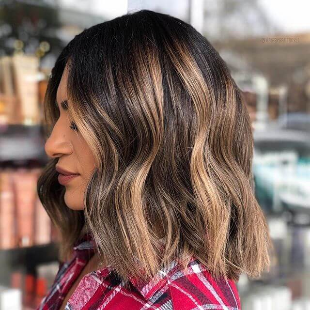 Blunt praise hairstyle for thick hair