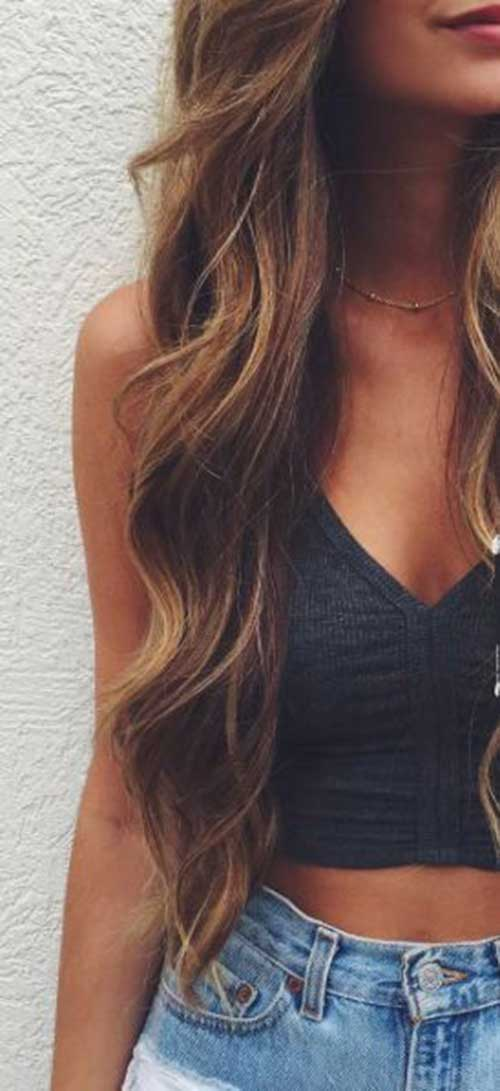 Long wavy hairstyle-7