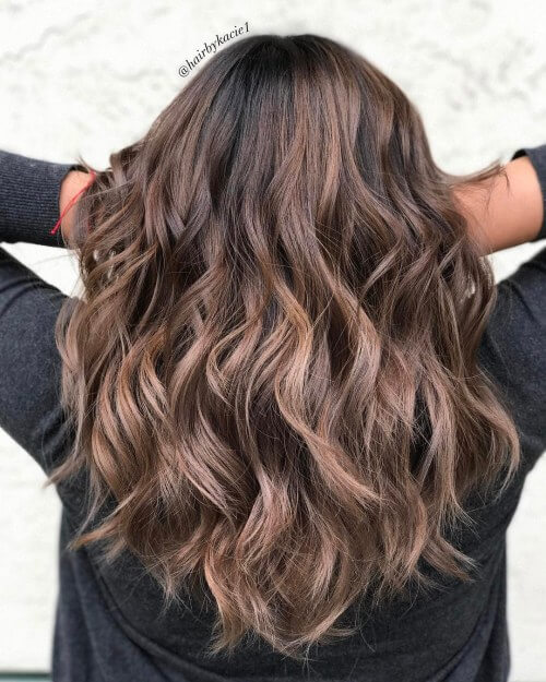Shoulder length hairstyle for thick hair