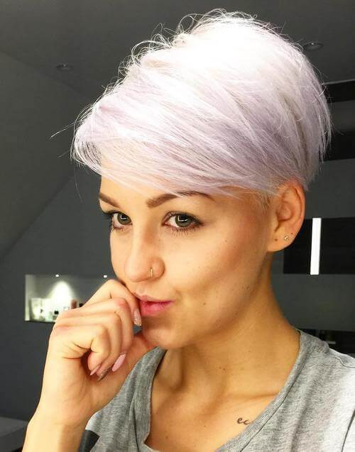 The modern pixie with a longer pony