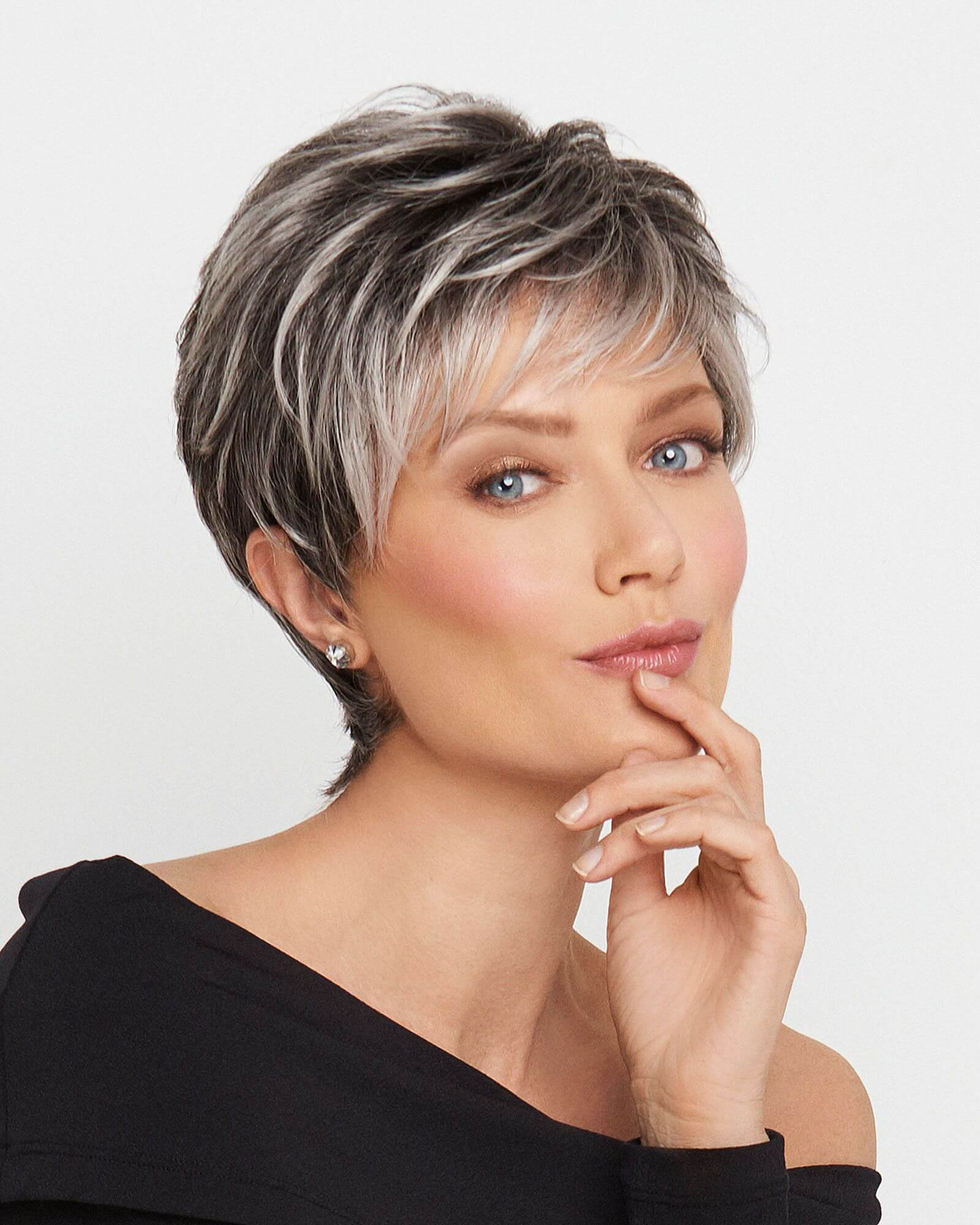 The Pixie with textured undercut