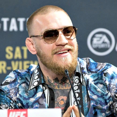 Conor McGregor Hairstyle - Buzz Cut + Thick Beard