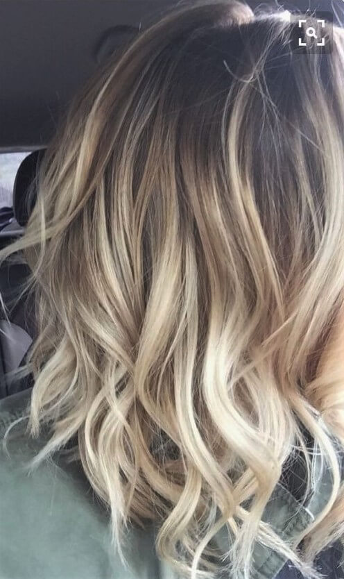 Luxury Straw-Colored Blond Hair