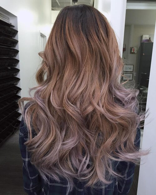 Ethereal color and fairytale long hair