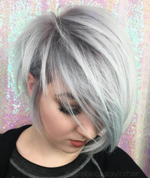 The conical Pixie haircut with pony