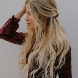 Most romantic long hairstyles for prom, hot and prominent