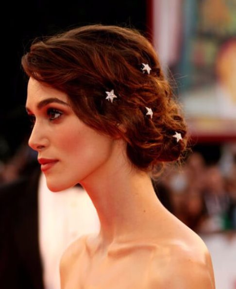 Stars marrying hairstyles for long hair