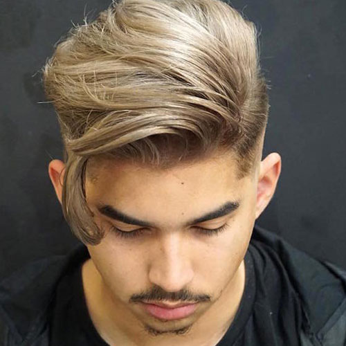 Long F rings with high fade and goatee