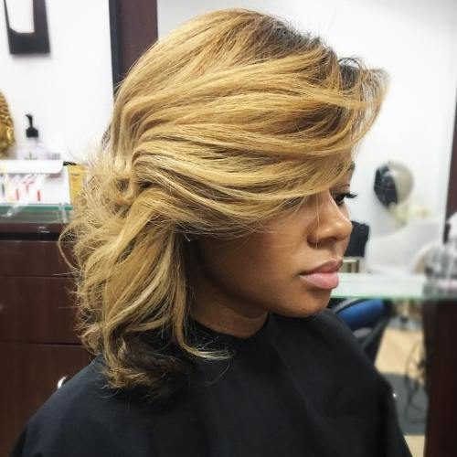 Side-swept style