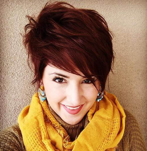 Cute Tapered Pixie for a fabulous debut