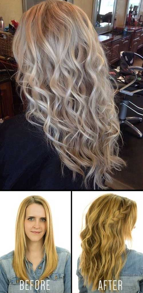 Hairstyles for wavy hair-8