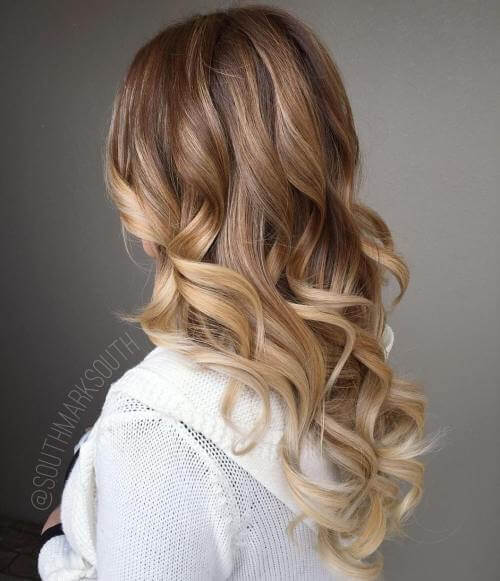 Charming curls and precision color