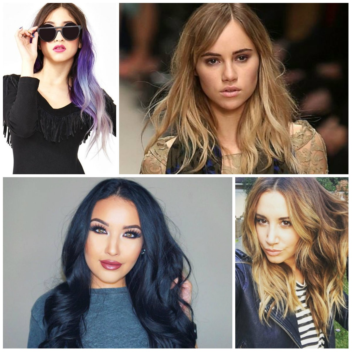 Nourishing hair color ideas