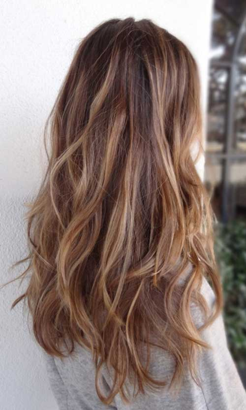 Hairstyles for wavy hair-16