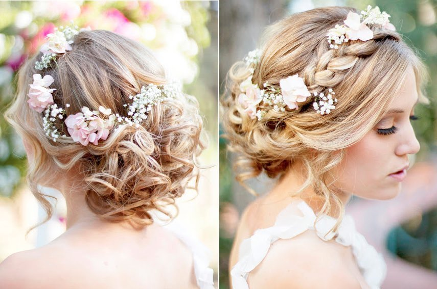 Beautiful wedding hairstyles for brides 2018