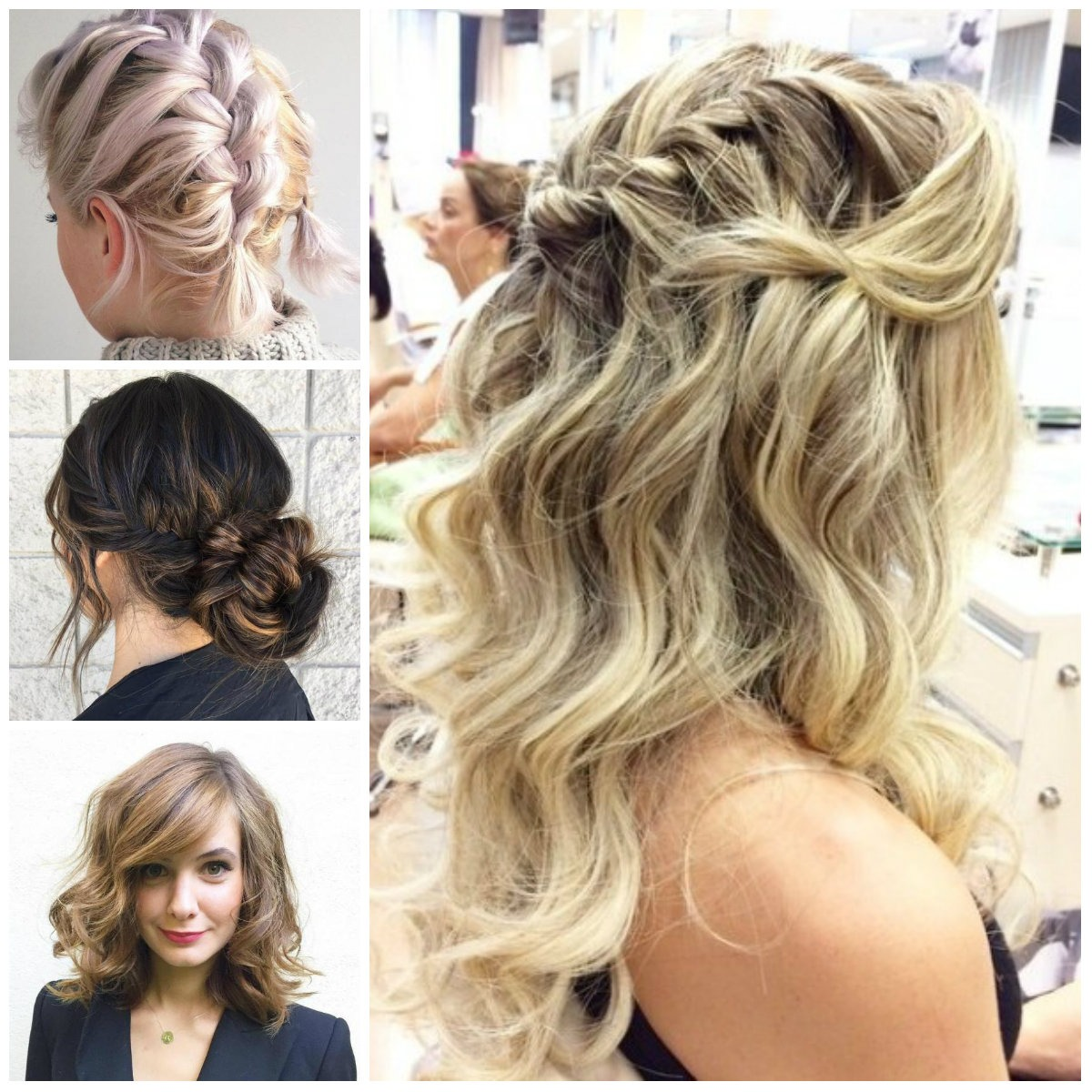 Perfect imperfect hairstyles for all hair lengths