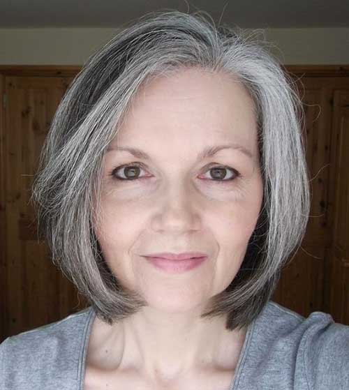 2018 hairstyles for mature women