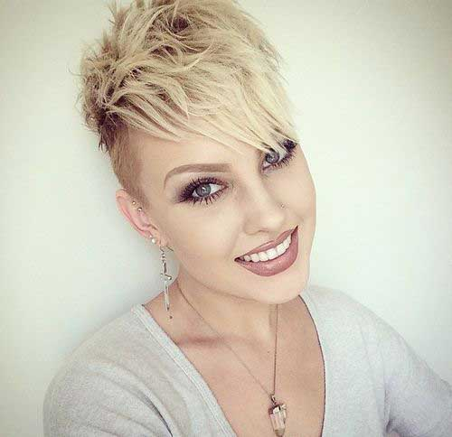 Short nervous hairstyles