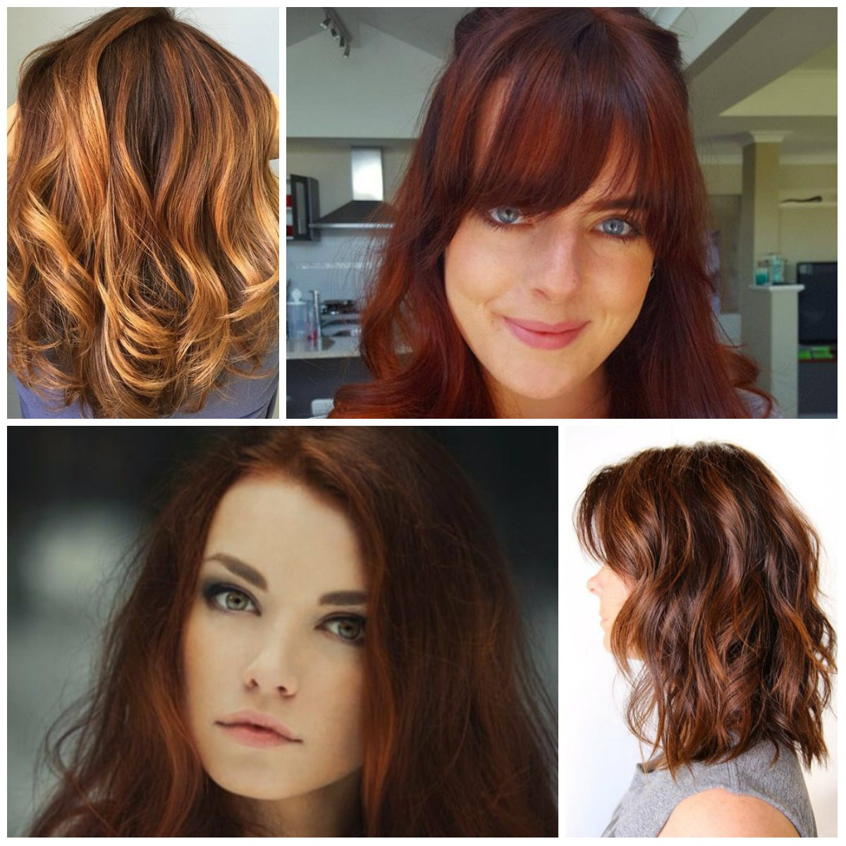 Auburn hair color ideas for 2018