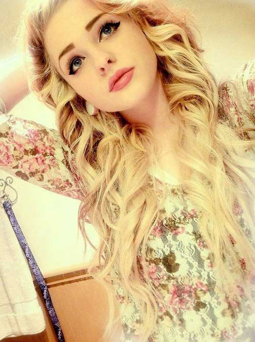 Hairstyles for wavy hair-20