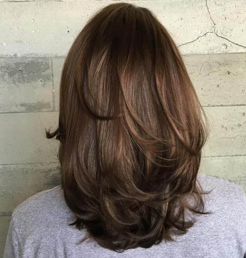 Just pretty shoulder-length layers
