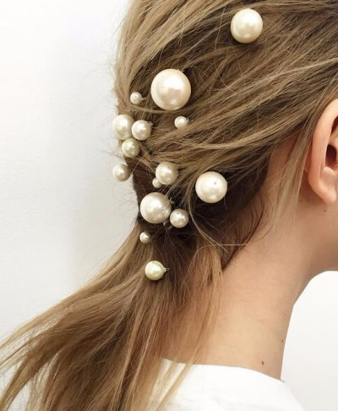modern pearls that wag hairstyles for long hair