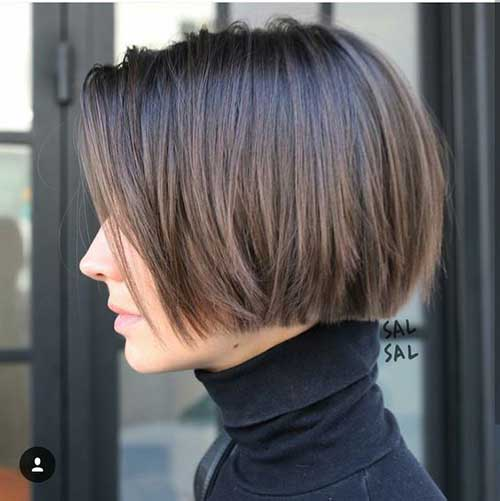 2018 Blunt Bob Hairstyle