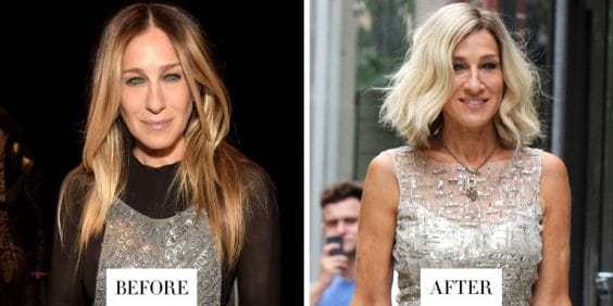 SJP is getting blond again