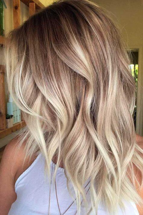 With an icy balayage you can never be wrong