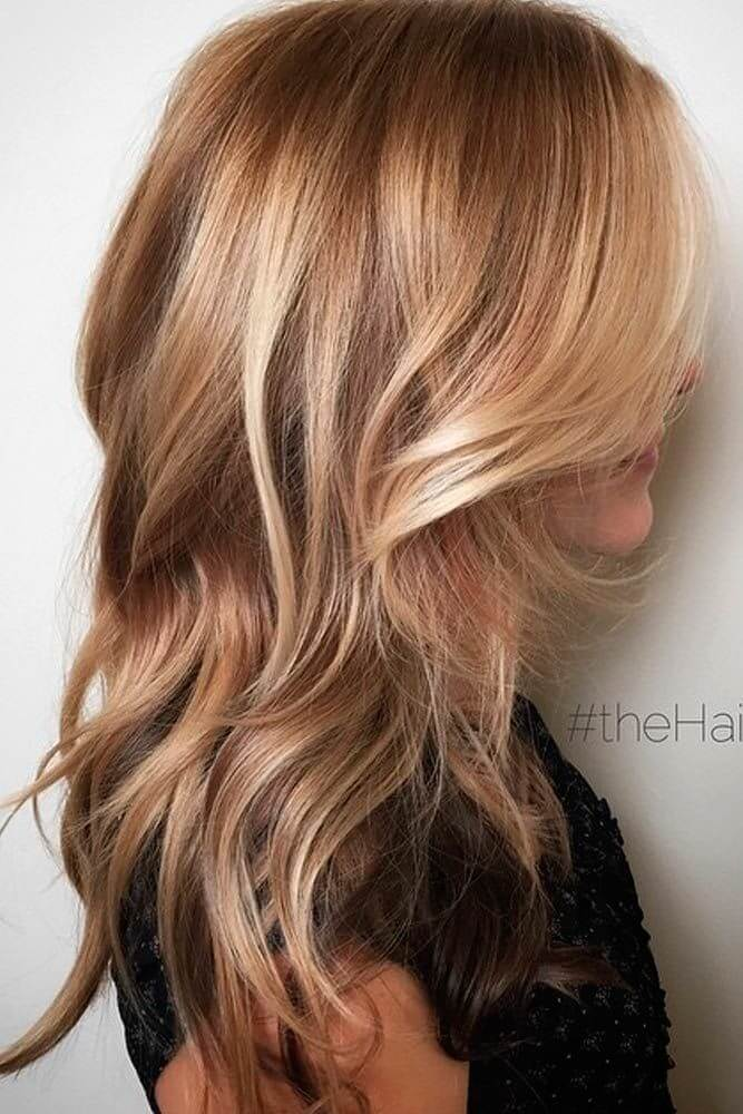 Soft and subtle blonde hair