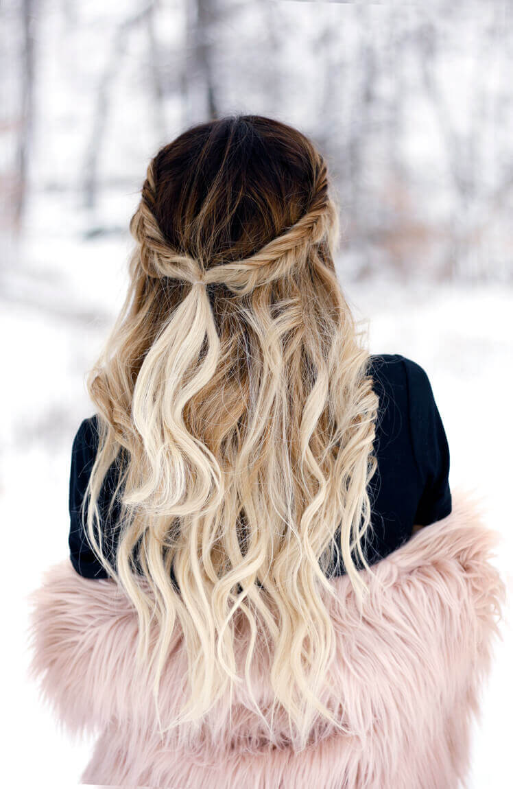 Best 30 Bombshell Blonde Balayage Hairstyles in 2018
