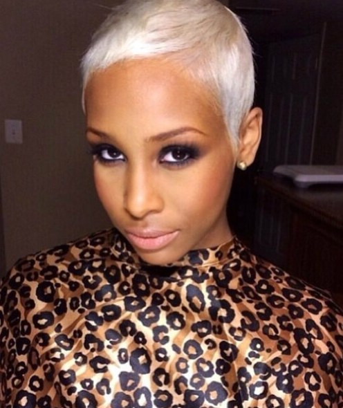 The Platinum Short Pixie Hairstyles for Black Women