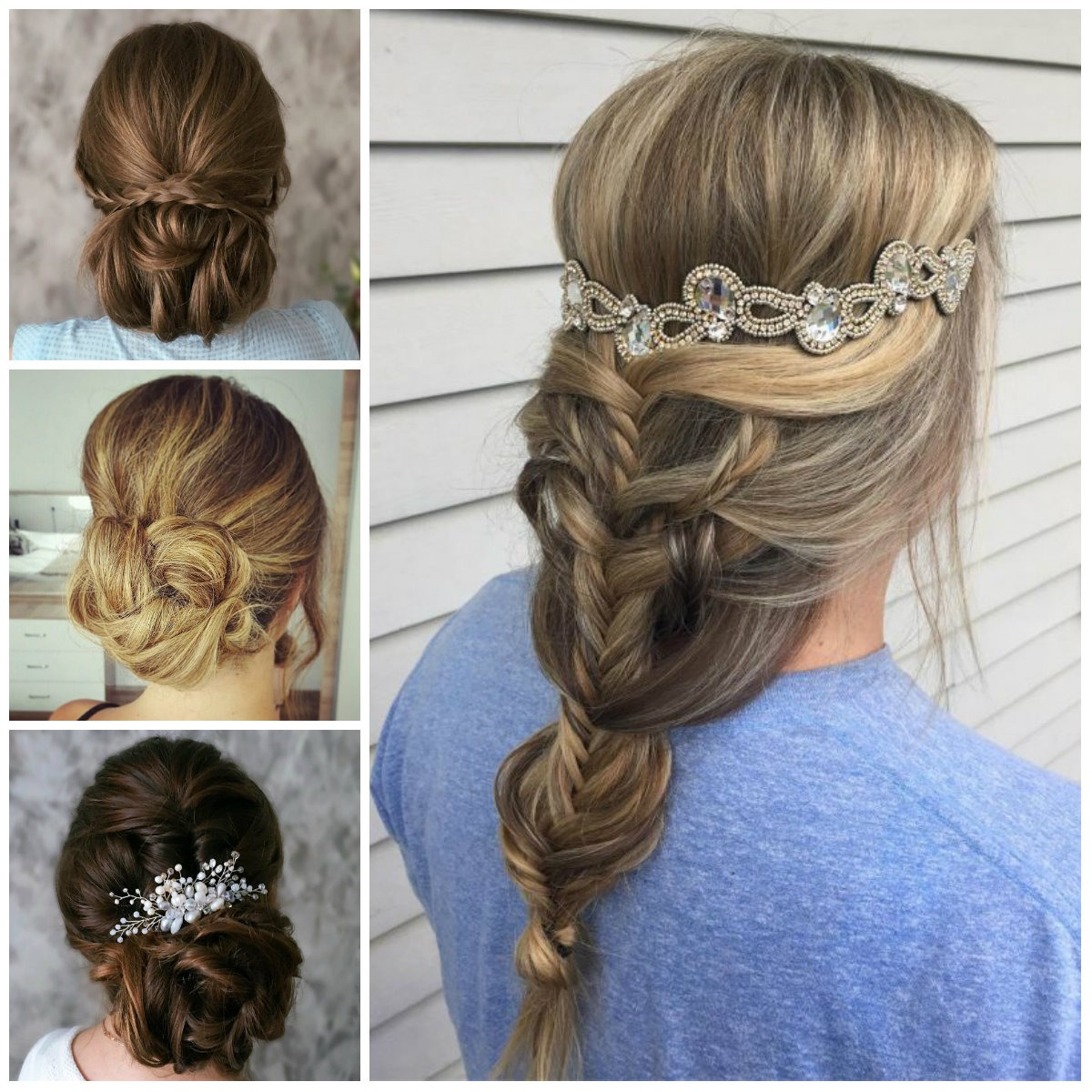 2017 Chic updos for long hair