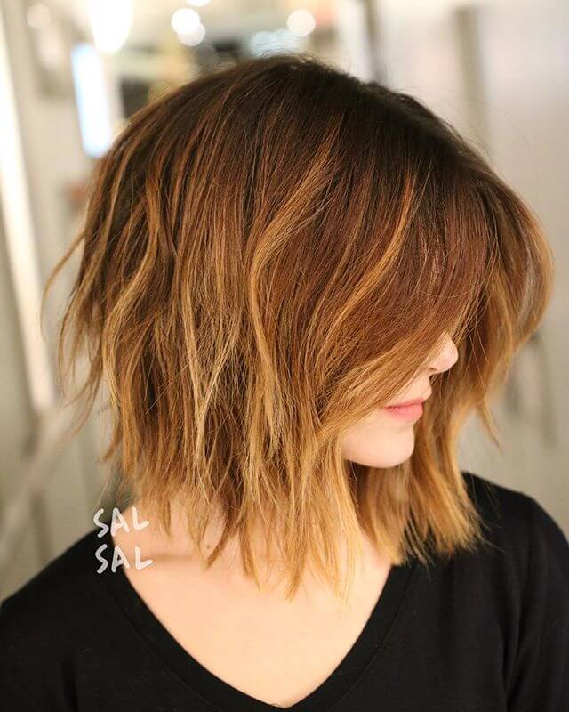 Cool hairstyle for medium fine hair