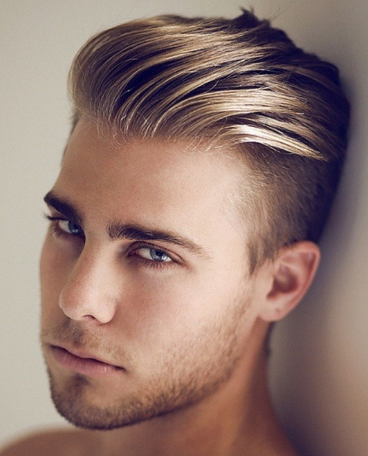 long hair undercut men