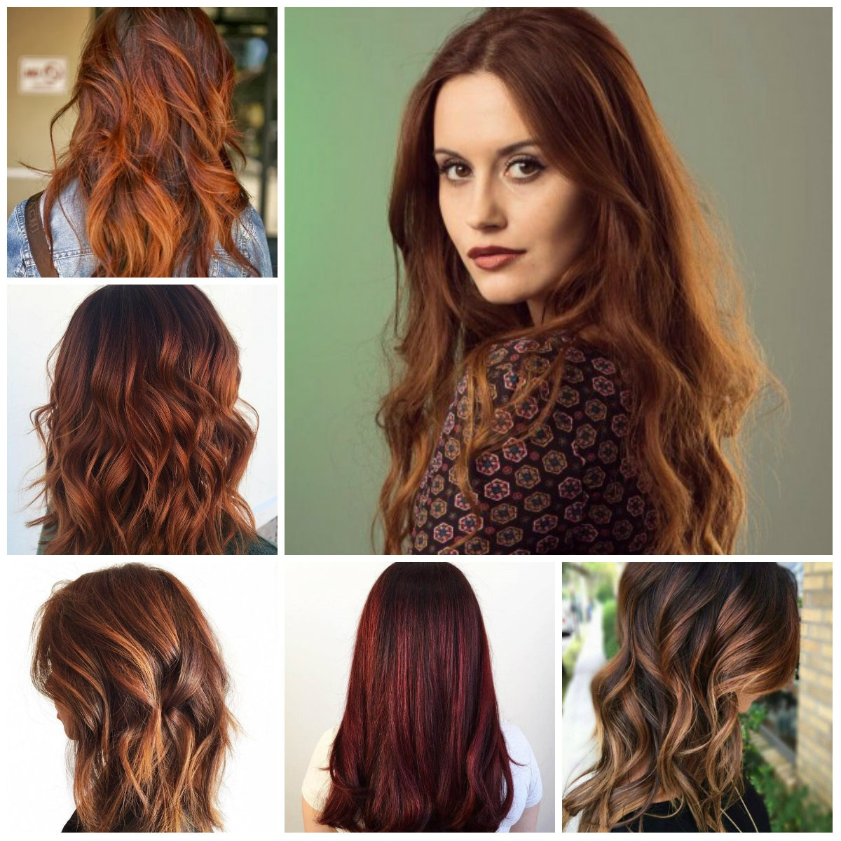 Beautiful auburn hair color and hairstyles ideas for 2018